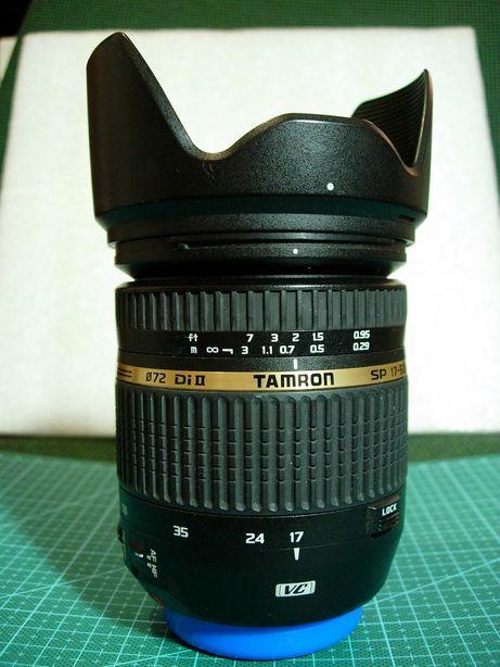 Tamron 17-50mm F/2,8 VC DiII (на CANON) в очень хорошем состоянии