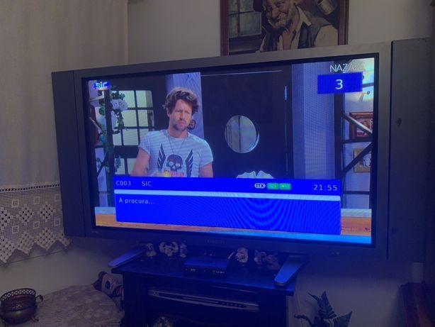 Monitor tv profissional plasma samsung PPM50M7HS pouca utilizacao