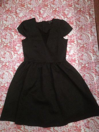 Czarna sukienka, Reserved, 36