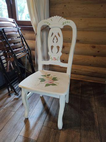 Krzesło krzesła drewniane