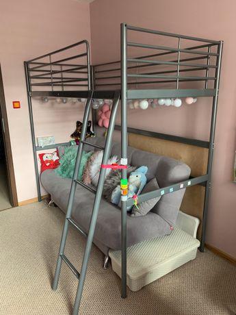 Łóżko piętrowe Svatra Ikea 90cm x 200cm