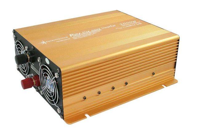 Inversor Conversor 2000W/4000W Reais Onda Pura 12V ou 24V - 220V
