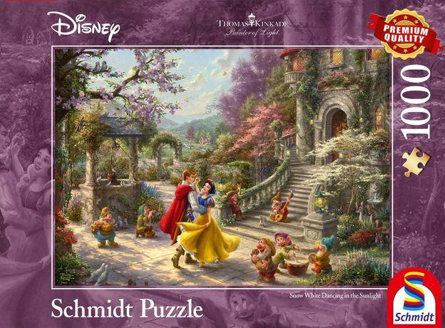 Puzzle Disney Schmidt/Thomas Kinkade/Królewna Śnieżka i 7 krasnoludków