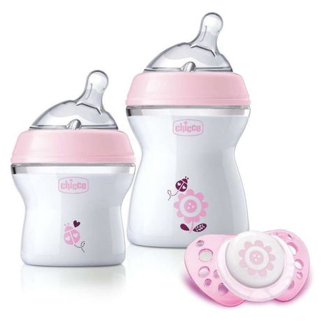 Chicco Zes Prezentowy But 150Ml+250Ml+Smoc Physio Air Pink