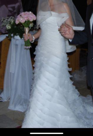 Suknia ślubna, la sposa, Madonna, rozm 34, hiszpanka