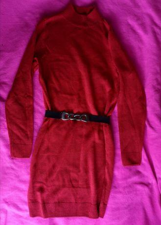 Sukienka tunika sweterków 36