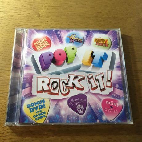 """""""Pop It / Rock It!"""" Vários Intérpretes / Disney CD / DVD"""