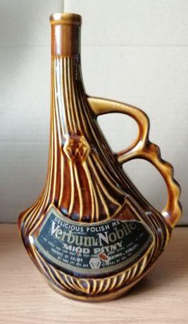 Mirostowice stara karafka ceramiczna jak wazon