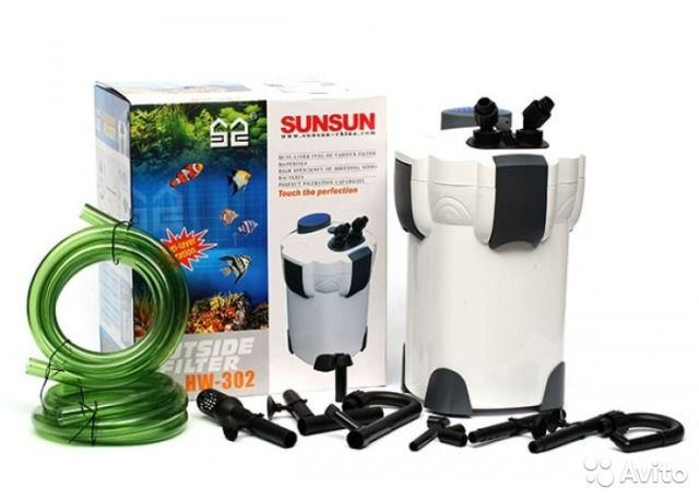 Фильтр SunSun HW-302А (Full) ,1000 л/ч, до 300л