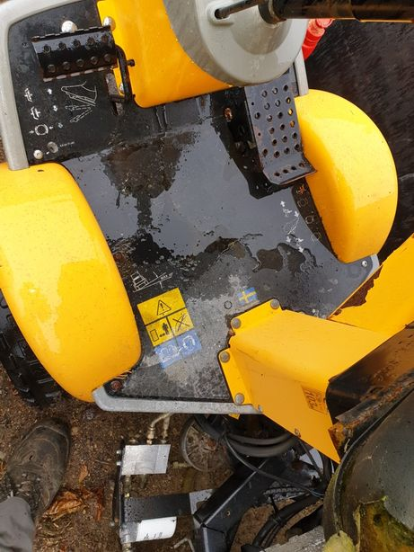 Podłoga stiga park pro diesel kosiarka traktorek