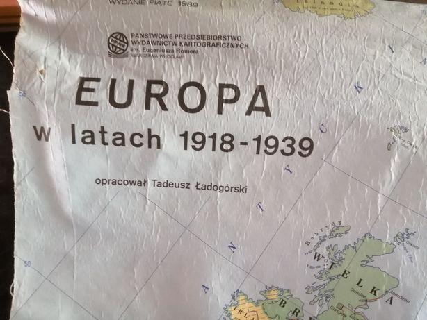 Mapa Europy historyczna