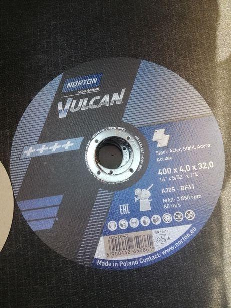 Круг, Диск отрезной 400х4х32 Norton Vulcan