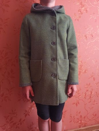 Детское пальто на рост 130-140 см 8-10лет