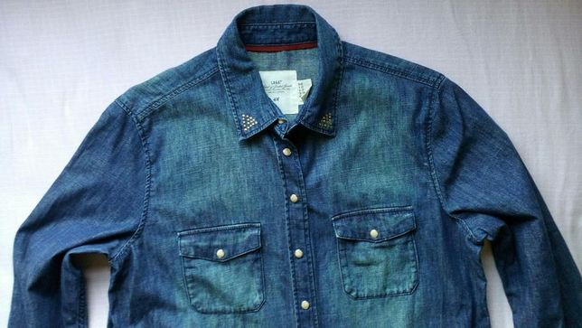 Camisa de ganga de mulher H&M nº42 CM 032