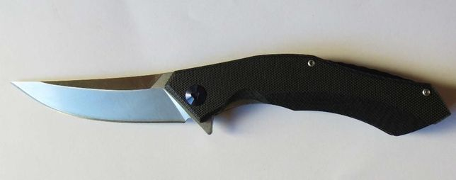 nóż folder Shirogorov Blue Moon D2