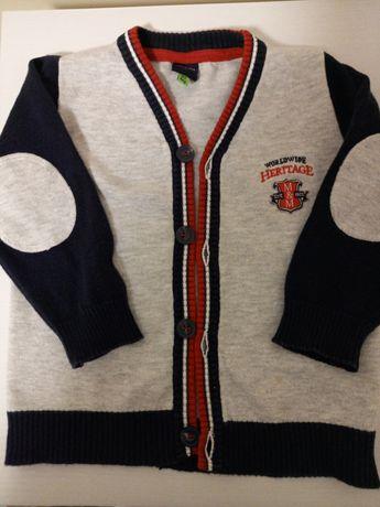 Swetr,sweterek coccodrillo, 5 10 15.