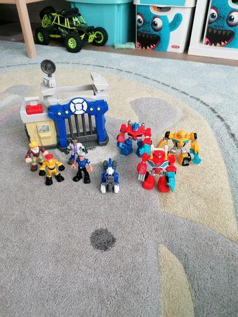 Figurki Transformer cały zestaw