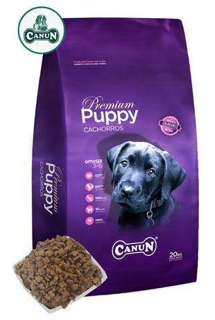 Karma dla psa szczeniąt CANUN PUPPY z kurczakiem 30% i witaminami 4 kg