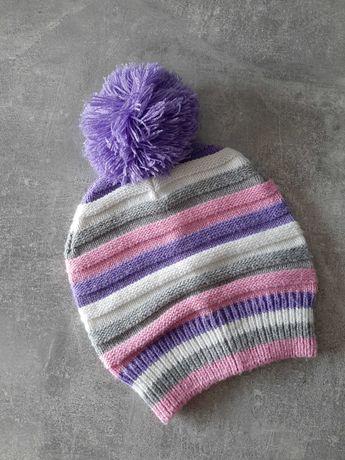 czapka w paski r. 52