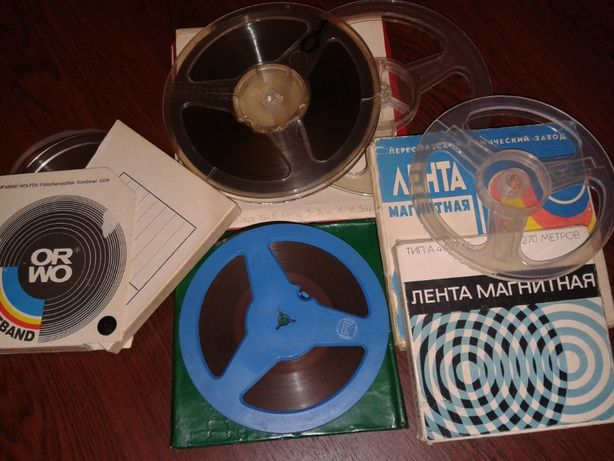 Кассеты для магнитофона и видеокассеты