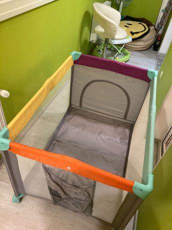 Манеж-кроватка для ребёнка от 0 до 3 лет