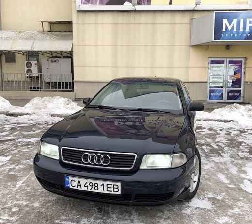 Audi A4 (ГБО)