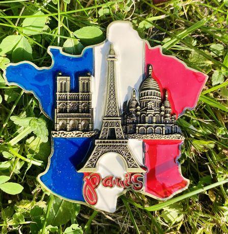 Magnes na lodówkę Paryż