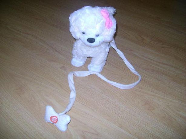 Peluche branco - Cadela