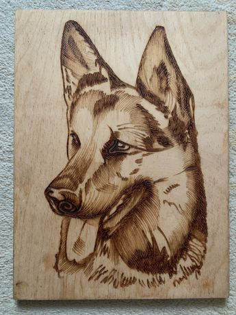 Картина з дерева
