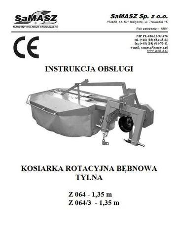 Instrukcja obsługi kosiarka rotacyjna Z 064