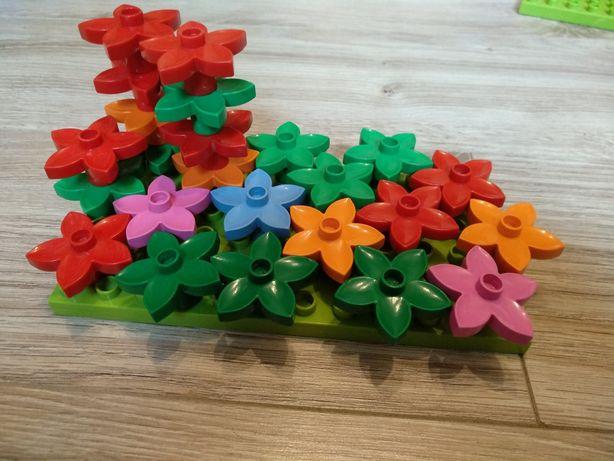 Kwiaty LEGO Duplo ORYGINALNE klocki stan BDB