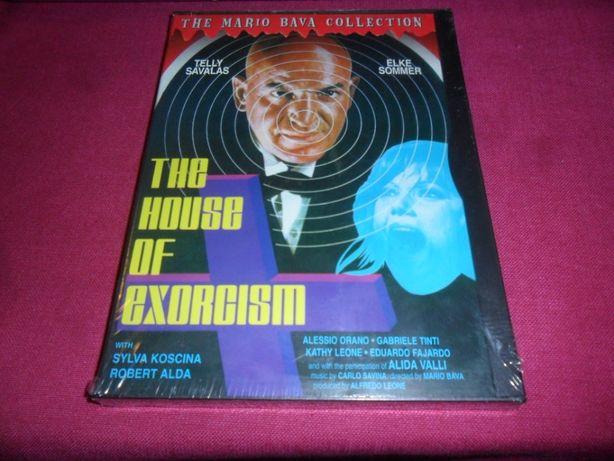 The House Of Exorcism DVD Mario Bava CULT Horror NTSC SELADO
