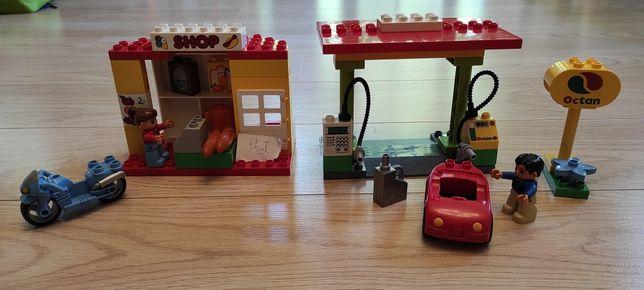 LEGO Duplo stacja paliw
