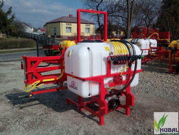 Opryskiwacz 600l litrów 15m NOWY ATEST fv zawór stałociśnieniowy stabi