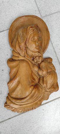 Rzeźba płaskorzeźba Relief Madonny Ferruzzi(1853) Matka Boska Cygańska