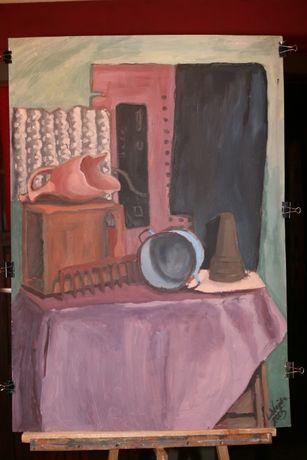 Obrazy ręcznie malowane, akryl, 100x70cm