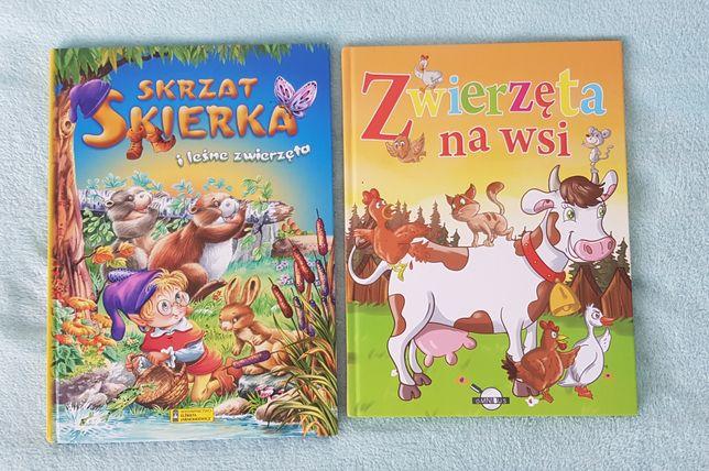 Książki dla dzieci - cena za 2 sztuki.