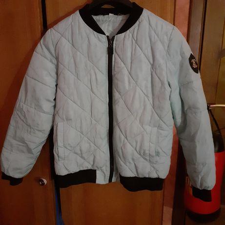Курточка на осень и теплую зиму размер ХХLкрасивая