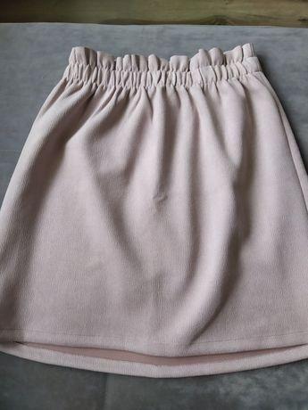 Spódnica różowa Bershka
