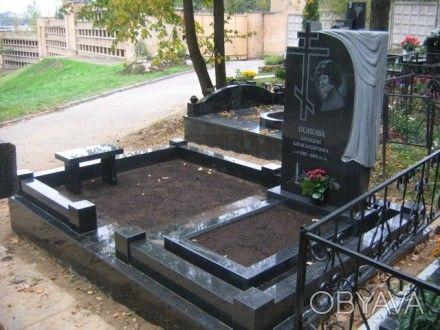 Изготовление гранитных памятников , благоустройство мест захоронений