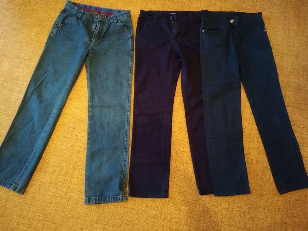 Брюки котоновые и джинс.