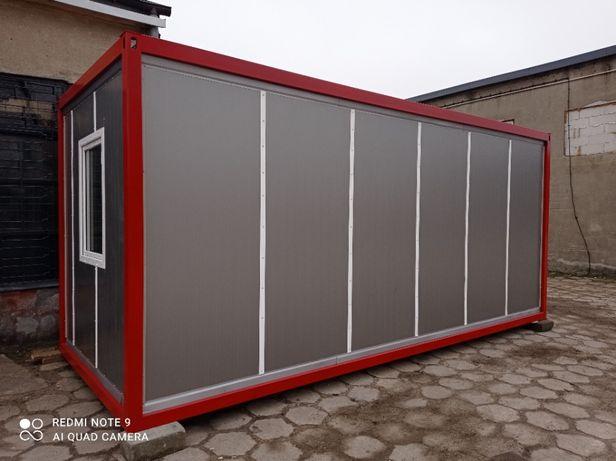 kontener socjalny kontener biurowy budowlany usługowy okazja!!
