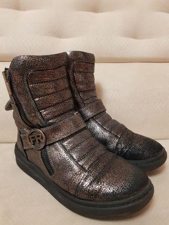 Зимние ботинки для девочки 34 размер