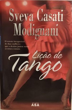 """Livro """"Lição de tango"""""""