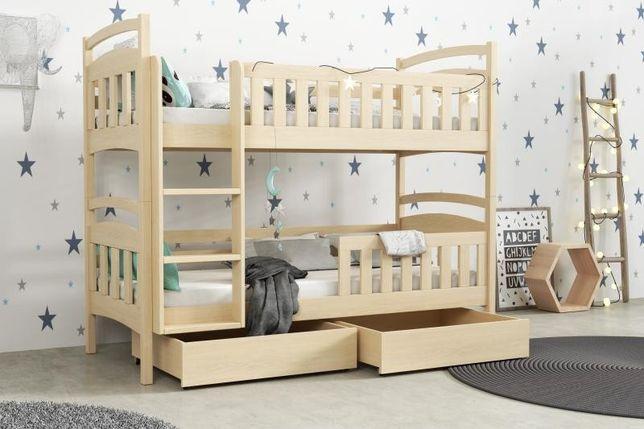 Łóżko dziecięce ! Dwu osobowe! Materace GRATIS