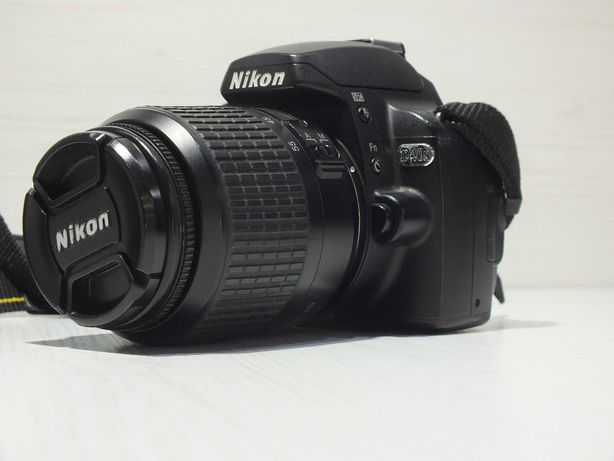 **Nikon D40x + obiektyw Nikon 18-55mm-Lombard Stówka**