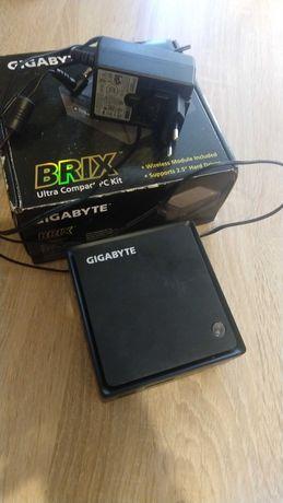 Gygabite Brix 3000 мини ПК, DDR3L 4 Gb, SSD 60 Gb