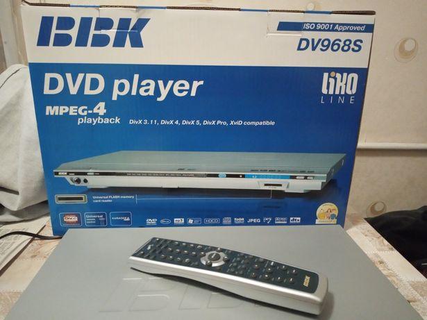 DVD плеер . Модель DV968S BBK .