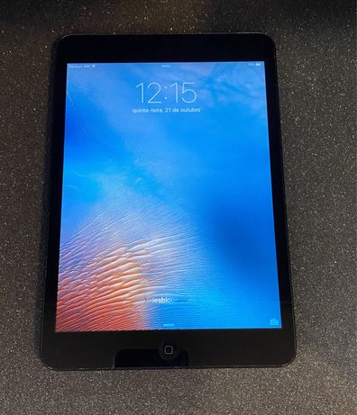 Apple iPad Mini 1 16Gb Preto
