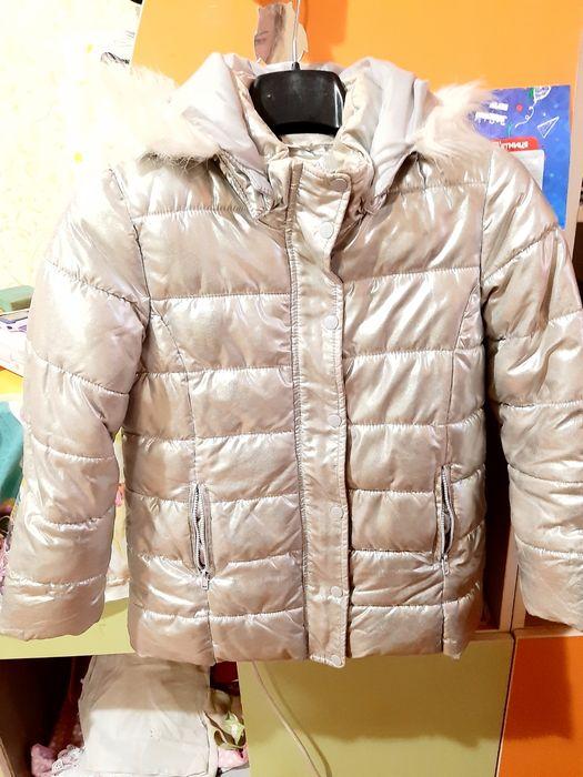 Зимняя курточка для девочки H&M Каменское - изображение 1